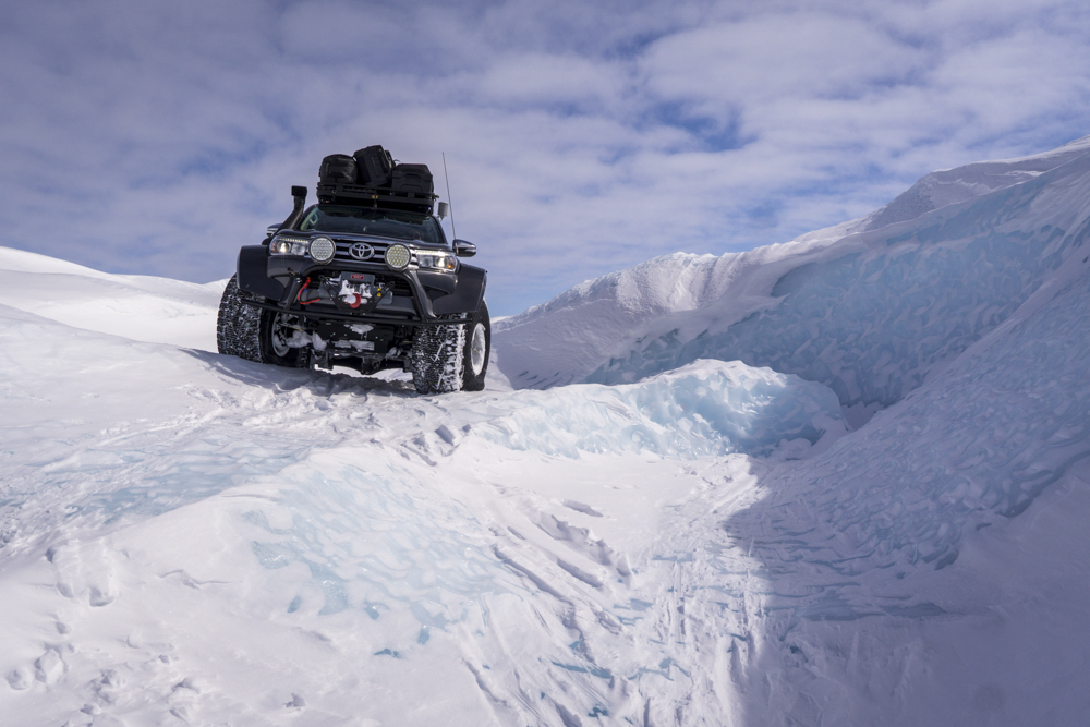 Terra Extrema Arctic Trucks takes on Greenland