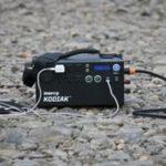 Gear Review: Off Grid Trek's 200W Solar Blanket + Inergy's Kodiak Solar Generator